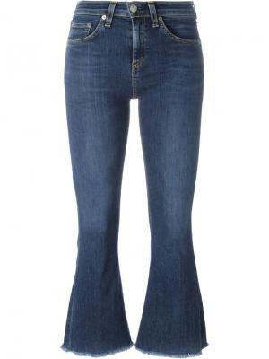 Расклешенные джинсы Rag & Bone /Jean. Цвет: синий