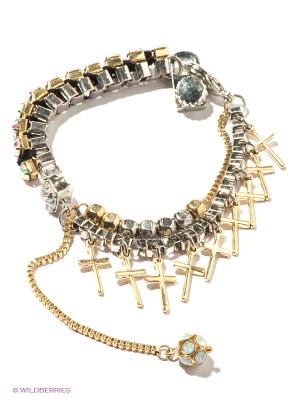 Браслет Milana Style. Цвет: золотистый, серебристый