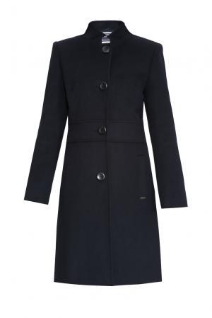 Пальто из шерсти 170668 Saint James. Цвет: синий