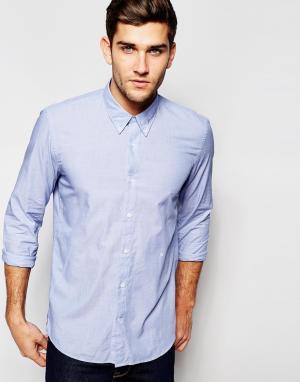Junk De Luxe Рубашка Fil-a-fil. Цвет: синий