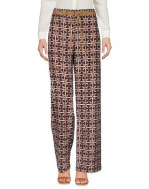 Повседневные брюки OPALINE. Цвет: темно-коричневый