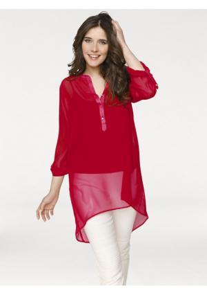 Блузка RICK CARDONA by Heine. Цвет: красный, черный