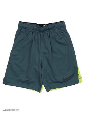 Шорты AS HYPERSPEED KNIT SHORT YTH Nike. Цвет: серый, желтый