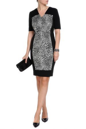 Платье Marks & Spencer. Цвет: черный микс