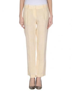 Повседневные брюки GOLD CASE SOGNO. Цвет: песочный