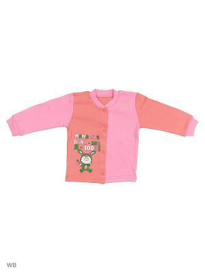 Кофта для новорожденных Bonito kids. Цвет: светло-коралловый, розовый