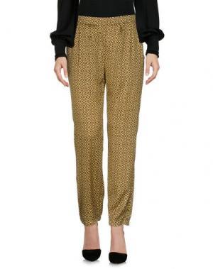 Повседневные брюки ANONYME DESIGNERS. Цвет: желтый