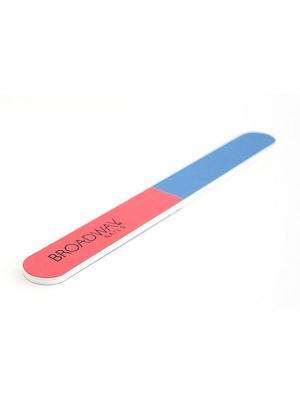 Пилка для ногтей 4сторонняя многофункциональная Kiss. Цвет: голубой, розовый