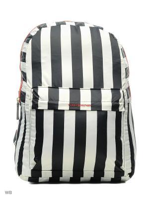 Рюкзак Tommy Hilfiger. Цвет: белый, темно-синий