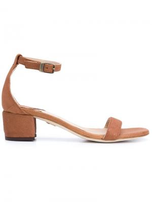 Dhara sandals Brother Vellies. Цвет: коричневый