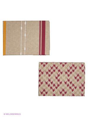 Комплект постельного белья ALTINBASAK. Цвет: коричневый, бордовый