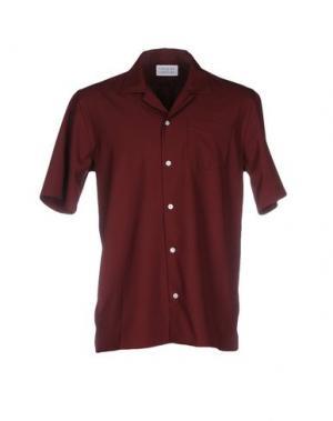 Pубашка LIBERTINE-LIBERTINE. Цвет: баклажанный