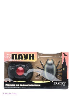 Игрушка на радиоуправлении ПАУК BRADEX. Цвет: черный