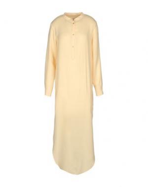 Длинное платье NANUSHKA. Цвет: желтый