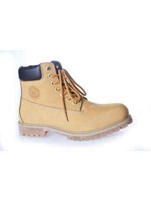 Ботинки Patrol. Цвет: желтый