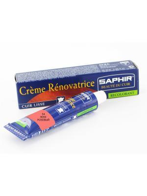 Восстановитель кожи Creme RENOVATRICE, 25 мл. (жидкая кожа)(54 розовый) Saphir. Цвет: розовый