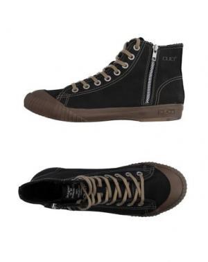 Высокие кеды и кроссовки CULT. Цвет: черный