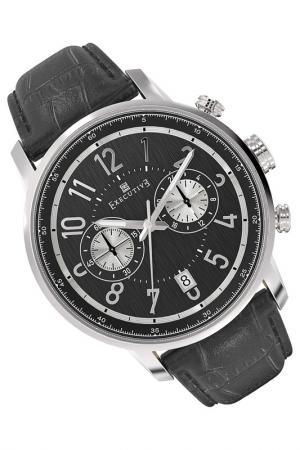 Часы Executive. Цвет: черный