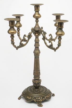 Канделябр Венецианский Stilars. Цвет: бронзовый