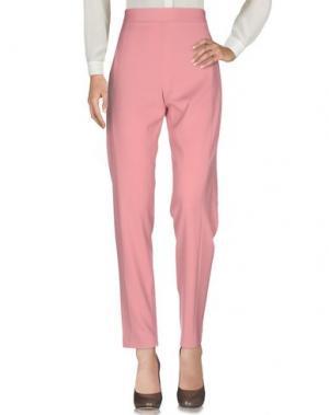 Повседневные брюки ALEX VIDAL. Цвет: пастельно-розовый
