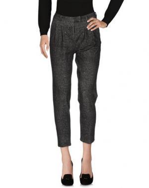 Повседневные брюки CIRCOLO 1901. Цвет: свинцово-серый