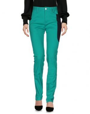 Повседневные брюки TSUMORI CHISATO. Цвет: зеленый