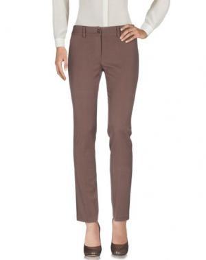 Повседневные брюки CLUB VOLTAIRE. Цвет: хаки