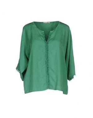 Блузка MAGILLA. Цвет: зеленый