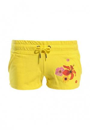 Шорты Baon. Цвет: желтый