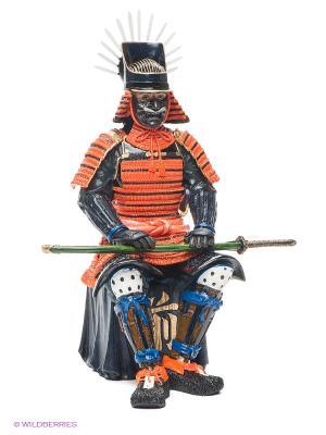 Статуэтка Феодал Тойотоми Хидейоши Veronese. Цвет: оранжевый, темно-синий, зеленый