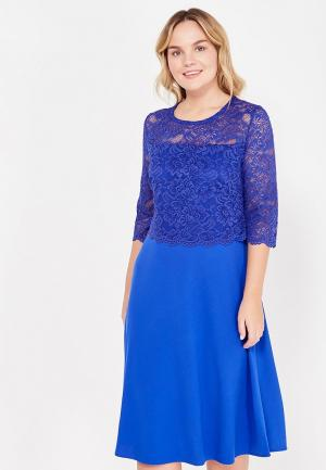Платье Dream World. Цвет: синий