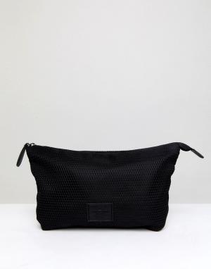 ASOS Черный сетчатый несессер. Цвет: черный