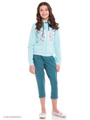 Комплект одежды PELICAN. Цвет: морская волна, бирюзовый