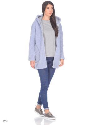 Куртка ALWERO. Цвет: голубой