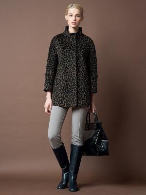 Куртка Pompa. Цвет: коричневый
