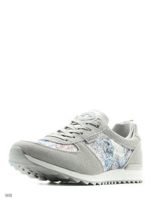 Кроссовки UN1TA. Цвет: серый