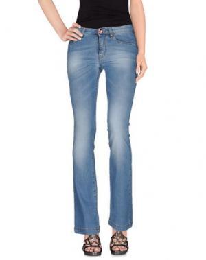 Джинсовые брюки J.CUBE. Цвет: синий