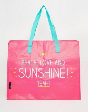 Happy Jackson Большая сумка Peace. Цвет: мульти
