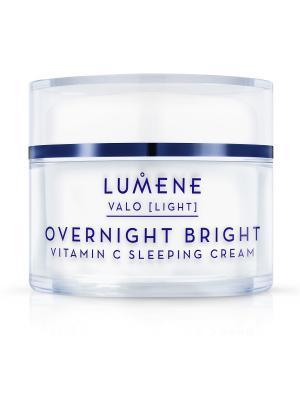 Восстанавливающий крем-сон Valo Vitamin C Lumene. Цвет: белый