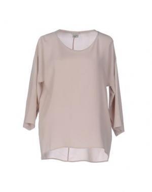 Блузка QL2 QUELLEDUE. Цвет: светло-розовый