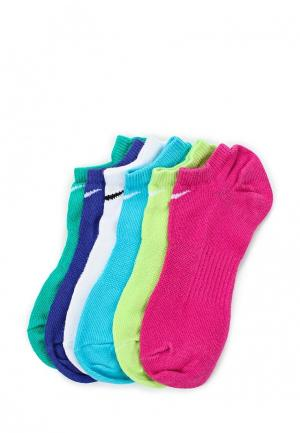 Комплект носков 6 пар Nike. Цвет: разноцветный