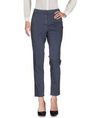 Повседневные брюки PAOLA ROSSINI. Цвет: свинцово-серый