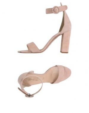 Сандалии BIANCA DI. Цвет: светло-розовый