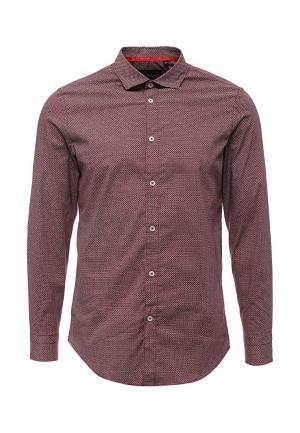 Рубашка Warren Webber. Цвет: красный