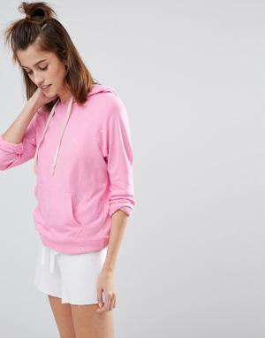 SUNDRY Розовое худи Candy. Цвет: розовый