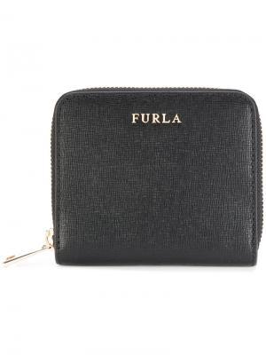 Кошелек для монет Furla. Цвет: чёрный