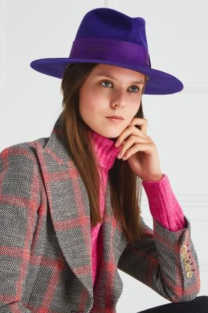 Фетровая шляпа Nick Fouquet. Цвет: фиолетовый