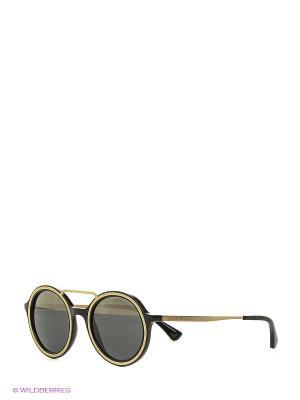 Очки солнцезащитные 0EA4062-50171Z Emporio Armani. Цвет: черный