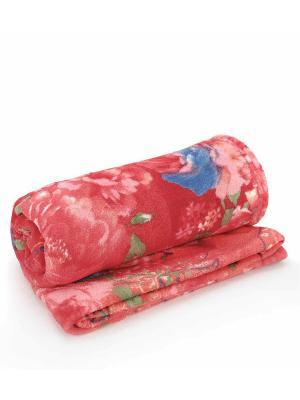 Плед AMO LA VITA. Цвет: красный, розовый, синий