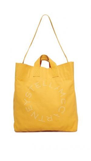 Пляжная сумка с круглым логотипом Stella McCartney